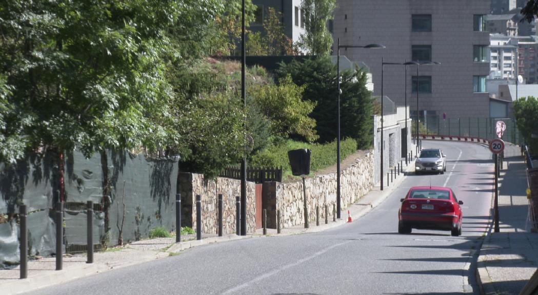 Des d'aquest dilluns el carrer Sant Andreu d'Andorra la V