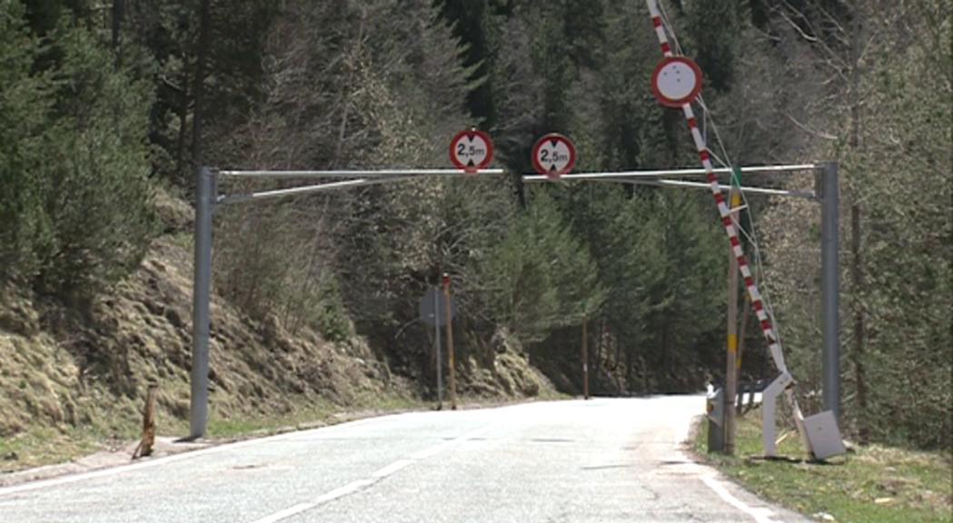 La carretera del coll d'Ordino es reobre al trànsit