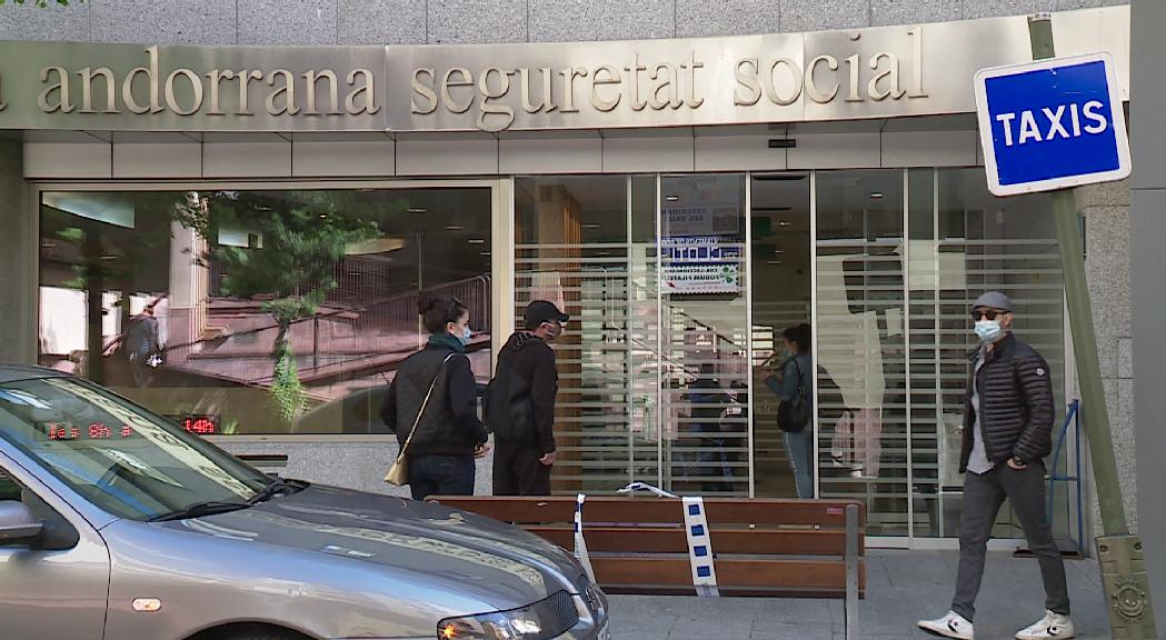 La CASS tanca el  primer trimestre de l'any amb 44.795 assalariats