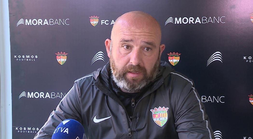 Castro vol un FC Andorra valent diumenge al camp de l'Hèrcules