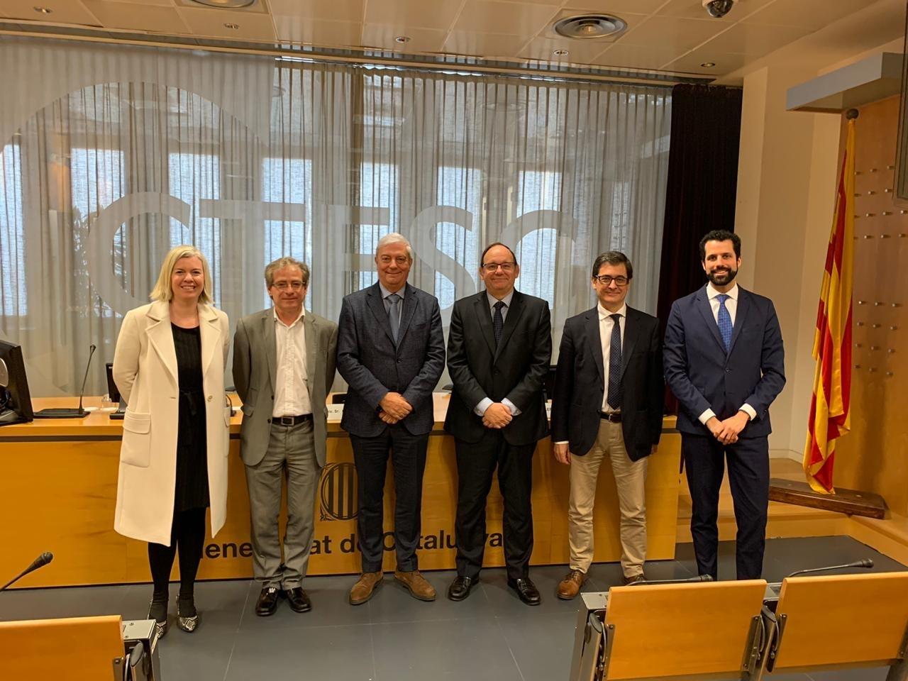 La CEA coneix de primera mà l'exemple català per desenvolupar la legislació sobre negociació col·lectiva i el Consell Econòmic i Social