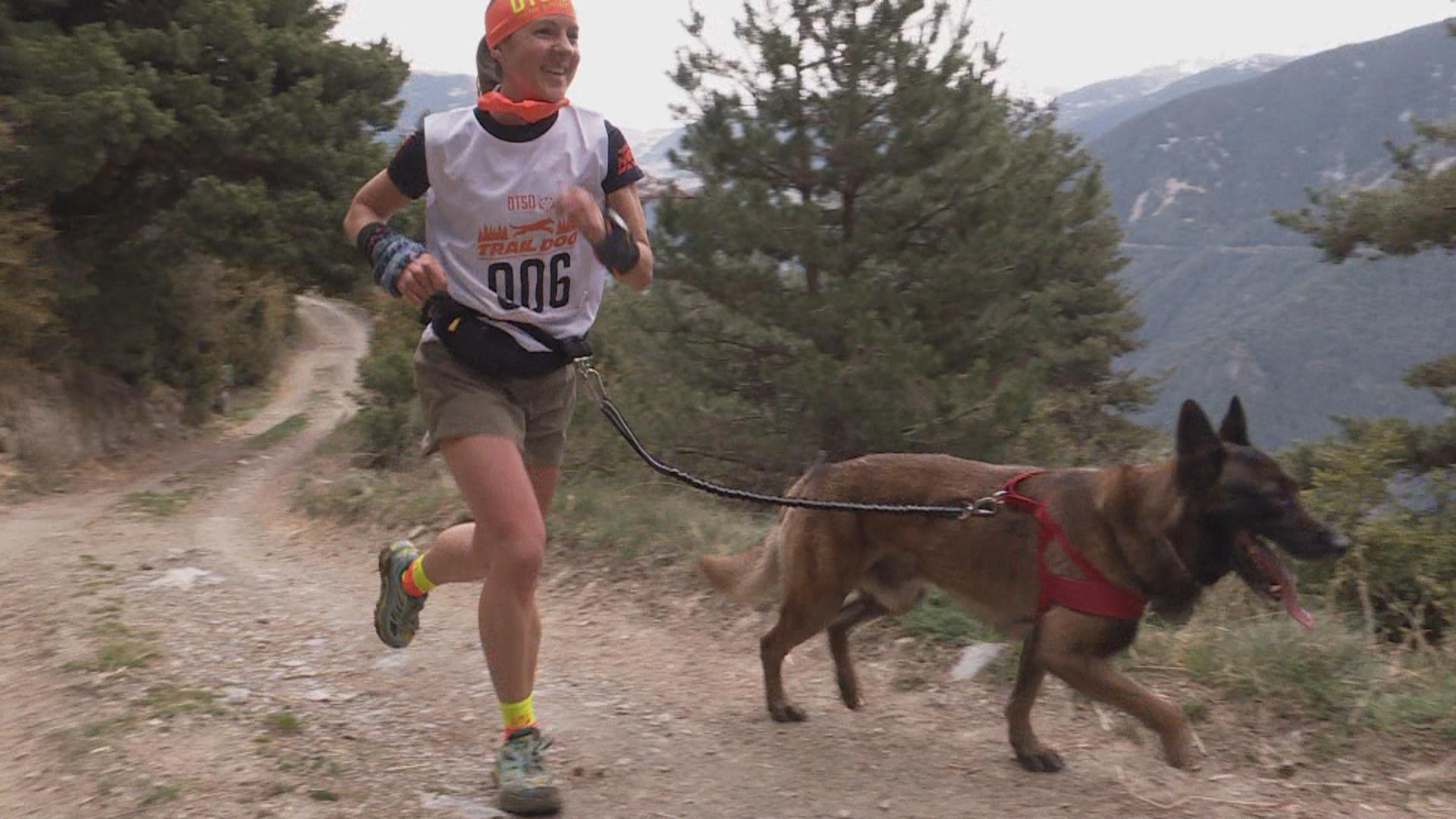 Sabrina Solana i el Loup, i Xavi Jové amb el Gares, guanyadors a l'Otso Trail Dog