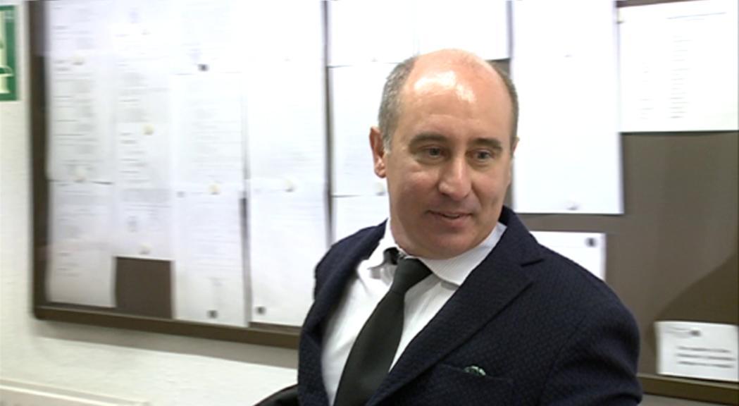 Alfons Clavera, vicepresident de l'Institut de Drets Humans,