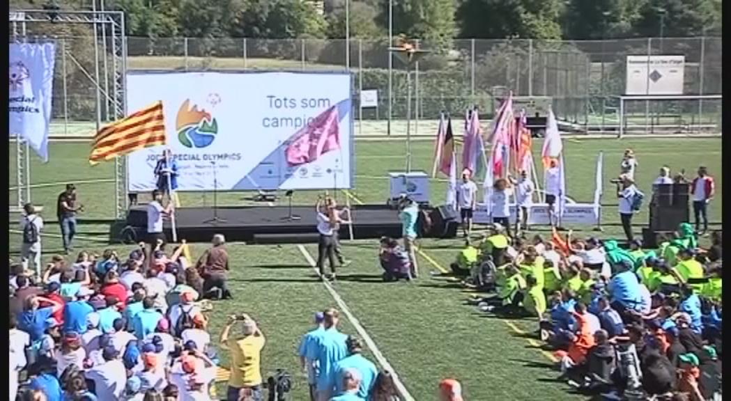La cloenda a la Seu d'Urgell tanca els onzens Jocs Special Olympics
