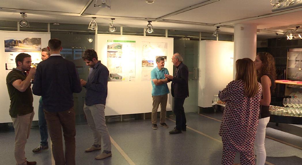 El Col·legi d'Arquitectes exposa els projectes que es van presentar per l'Espai Columba