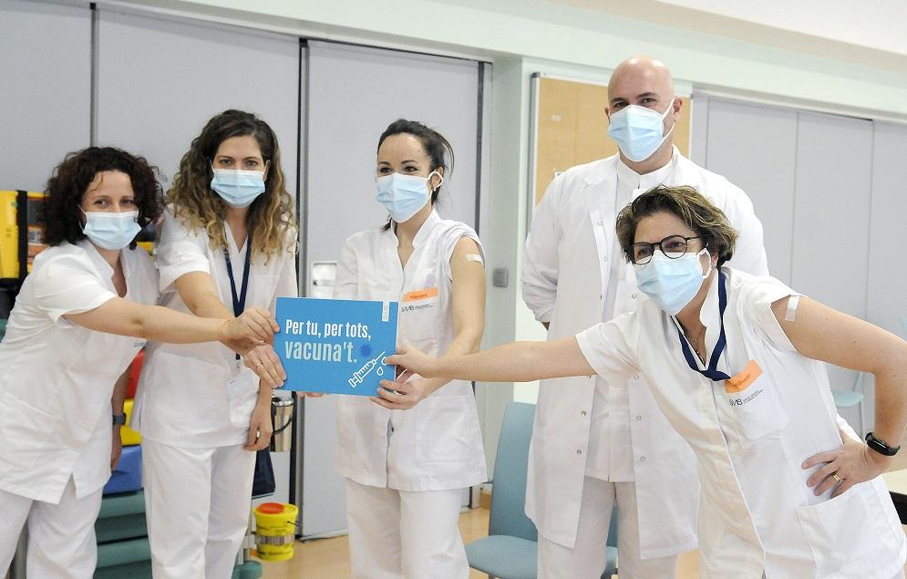 Comença la vacunació contra la Covid-19