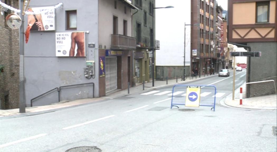 Els comerciants, els principals afectats en la prova pilot de l'avinguda Príncep Benlloch