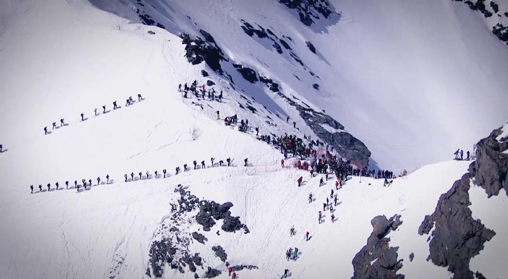 Les comperticions d'esquí de muntanya es queden sense temporada alta