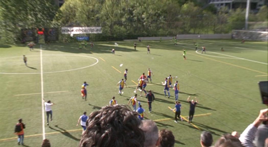 El comú accelera les obres a Prada de Moles amb un cost de 450.000 euros per l'ascens de l'FC Andorra