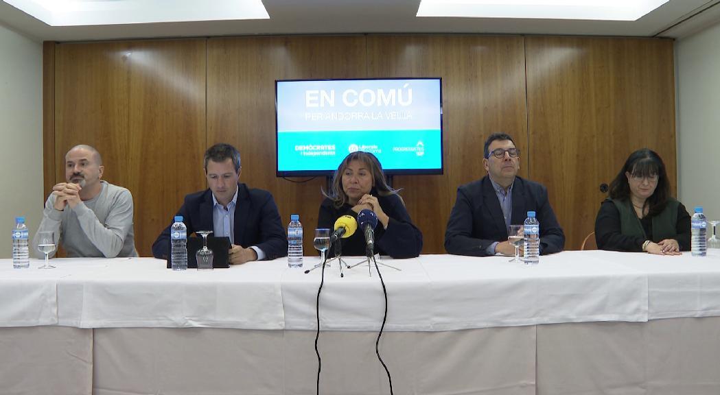 En Comú per Andorra la Vella defensa la feina feta els darrers quatre anys com a aval per les EC2019