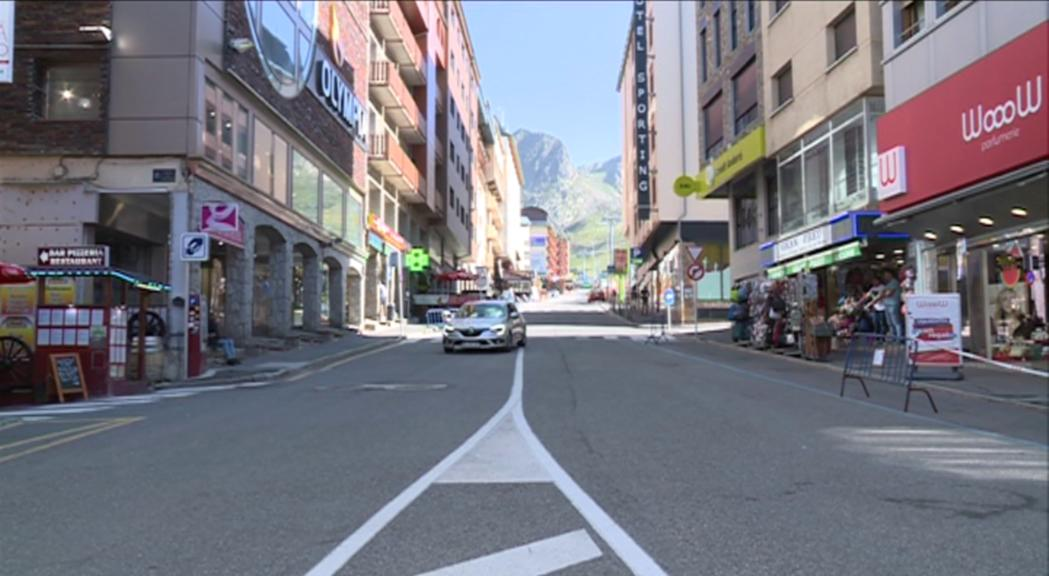 El comú d'Encamp ha rebut 154 sol·licituds d'ajuts de comerciants del Pas pel tall de la carretera