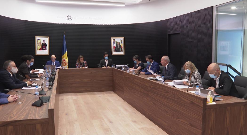 El comú d'Escaldes vol destinar el milió d'euros del fons solidari a la CASS