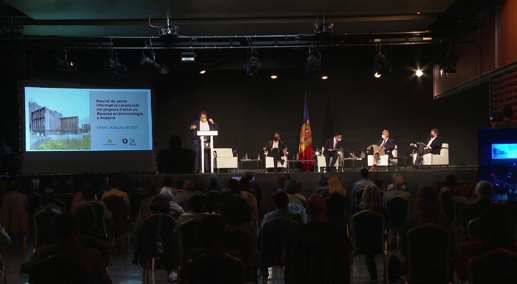 El comú d'Ordino aprova la construcció del laboratori de Grifols però amb les reticències de l'oposició que demana més informació