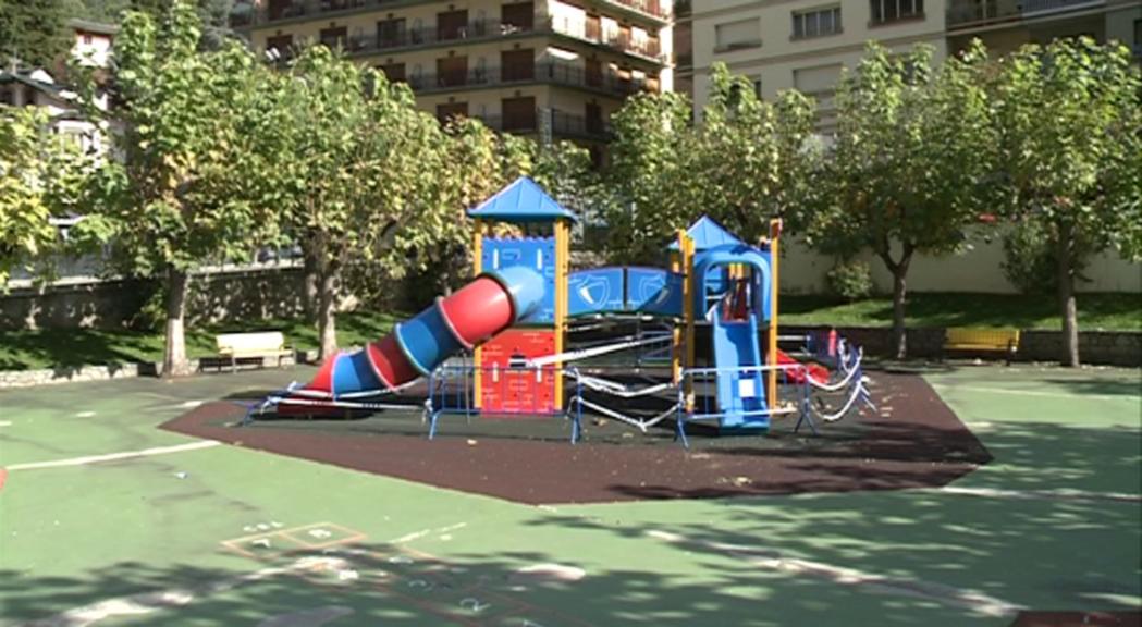 El parc infantil del Prat Gran s'ha reobert aquest dimecres despr