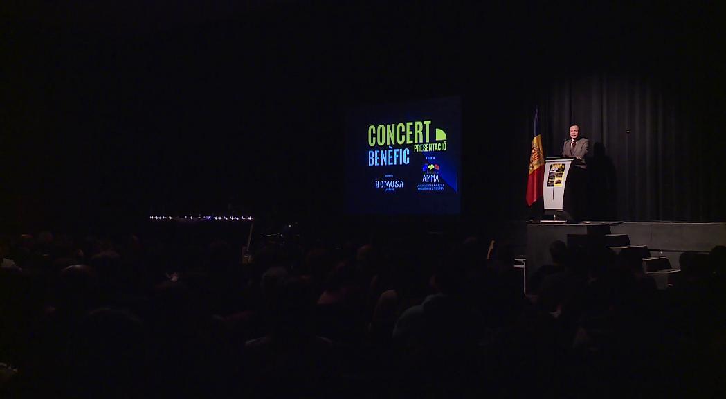 El concert benèfic a favor  de l'associació de malalties minoritàries aplega més de 500 espectadors