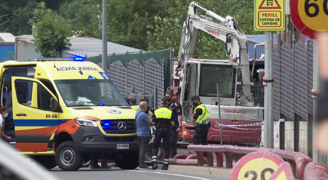 El conductor implicat en l'accident mortal a Encamp passarà aquest dijous a disposició judicial acusat d'un delicte contra la vida humana