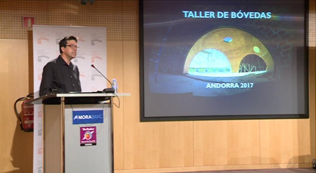 Conferència del COAA sobre els avantatges de la volta en arquitectura