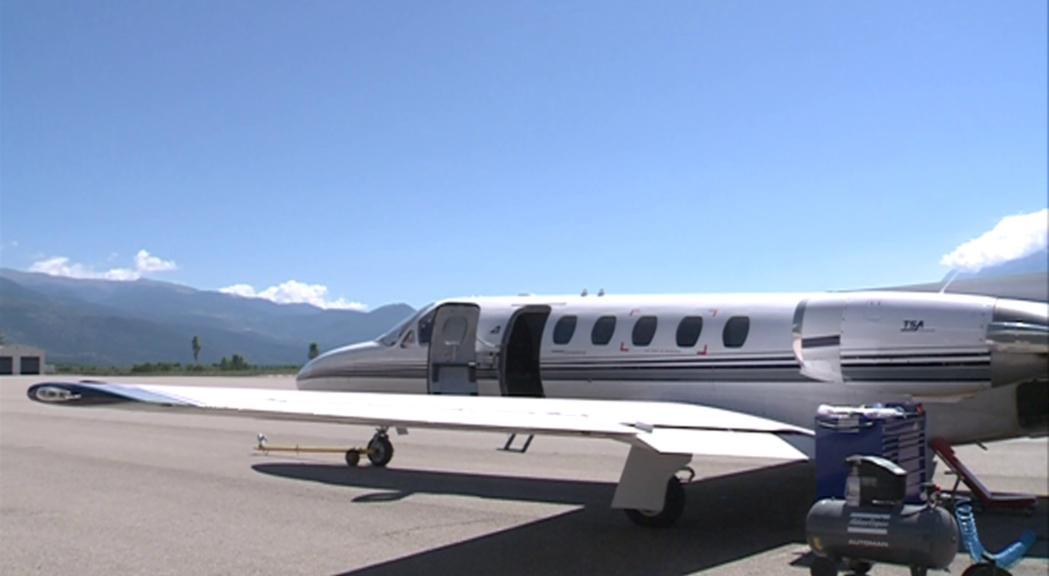 TSA aconsegueix fer rendible el servei d'aerotaxi tres anys després de posar-lo en marxa