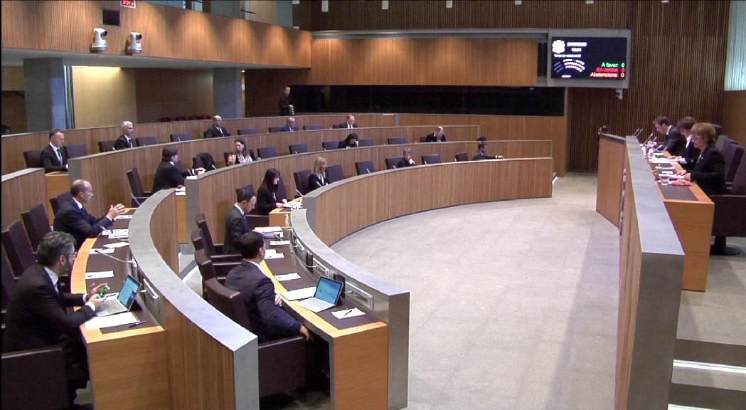 El Consell General ha ajornat les activitats parlamentàrie