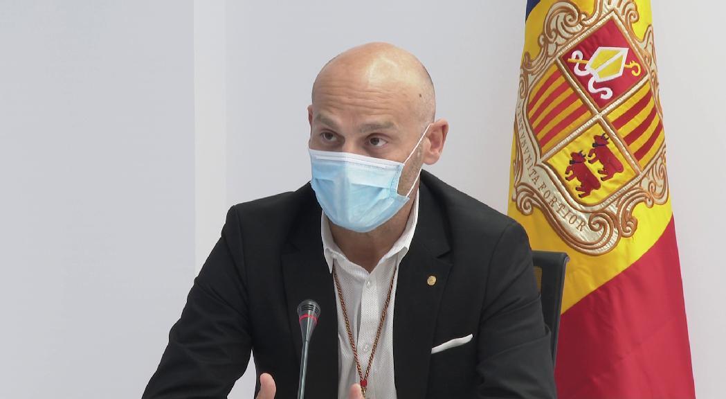 El conseller demòcrata d'Escaldes-Engordany Jordi Vilanova lamenta no poder assistir al consell de forma telemàtica