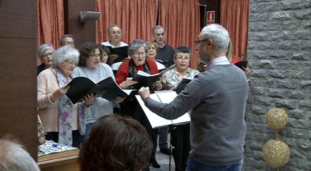 La Coral Casamanya clou el Nadal amb concerts a les residències del Principat