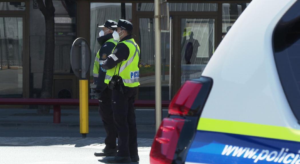 La policia celebra el dia de la patrona sense els actes tradicionals