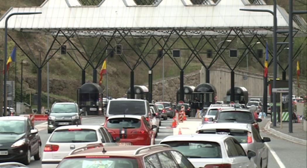 Cues poc importants a la frontera del Riu Runer i previsió de retencions per dilluns