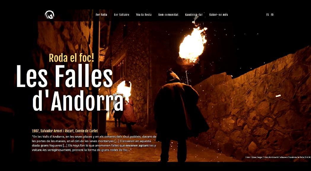 Cultura crea una pàgina web per commemorar l'aniversari de les falles com a patrimoni de la UNESCO