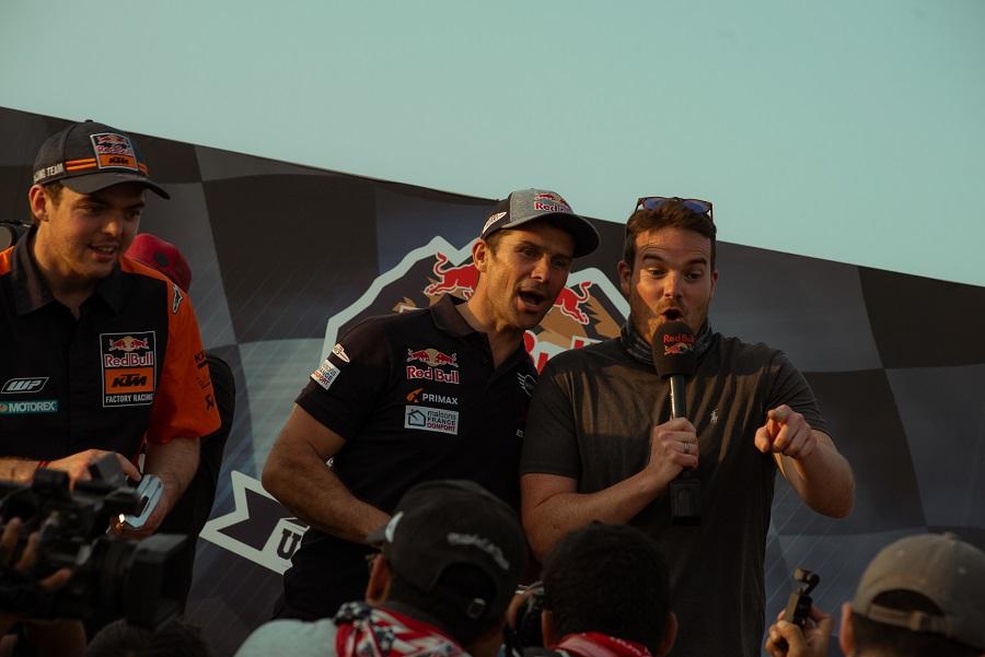 Nasser Al-Attiyah, en cotxes, i Toby Price, en motos, s'han p