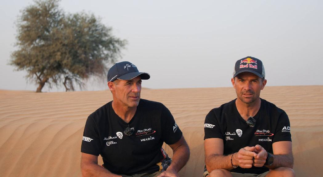 Cyril Despres vol un vehicle d'hidrogen al Dakar del 2023