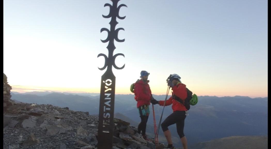 Dakota Jones i Nick Elson guanyen la 2.900 Alpine Run 2018