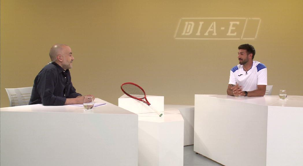 Damien Gelabert viu amb la màxima il·lusió la tornada a l'escenari on va debutar a la Copa Davis fa 10 anys
