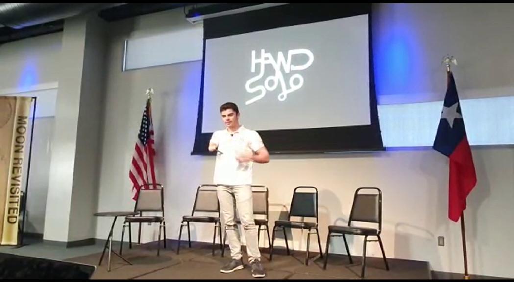 David Aguilar es guanya els assistents de la trobada sobre innovació a la NASA