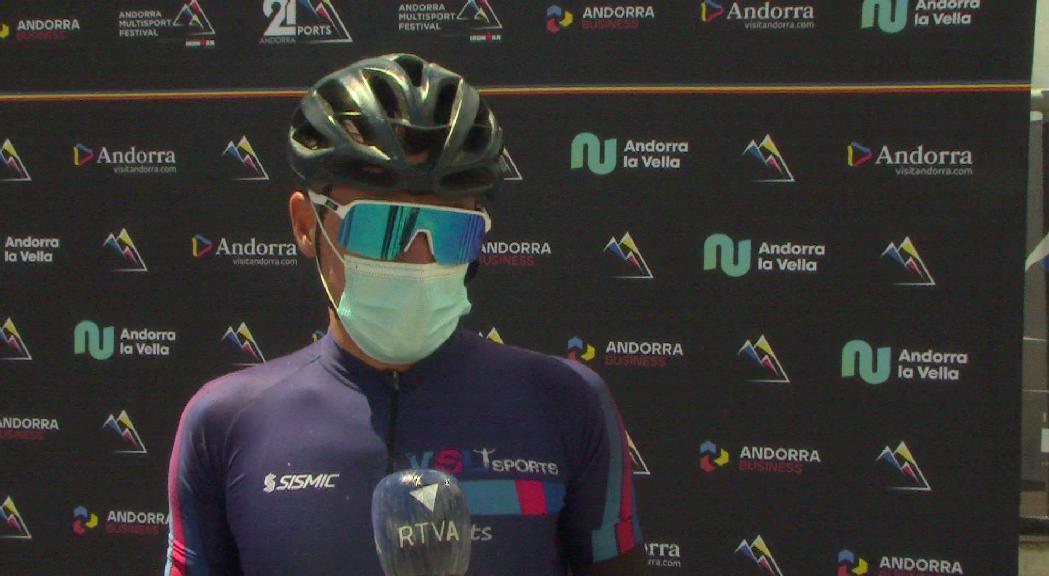 David Fernàndez guanya la primera etapa de l'Andorra 21 Ports