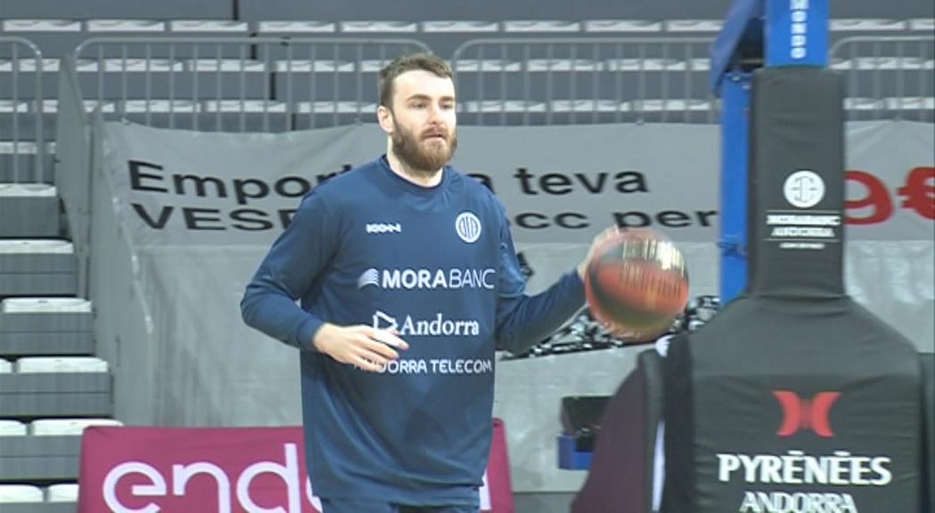 El MoraBanc Andorra ha renovat David Jelínek fins al final