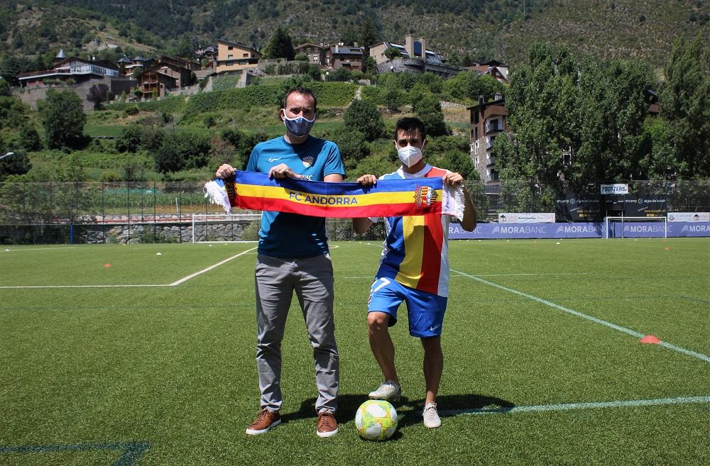 David Martín, primer fitxatge del Futbol Club Andorra per a la propera temporada