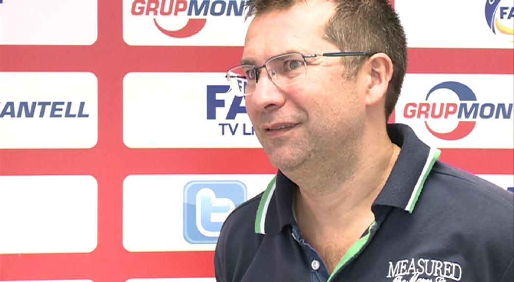 David Rodrigo, candidat número 1 a secretari general de la FAF