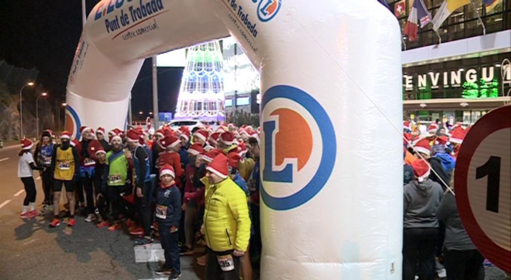 Dayane Huerta i Nahuel Carabaña guanyen una Sant Silvestre amb prop de 800 corredors