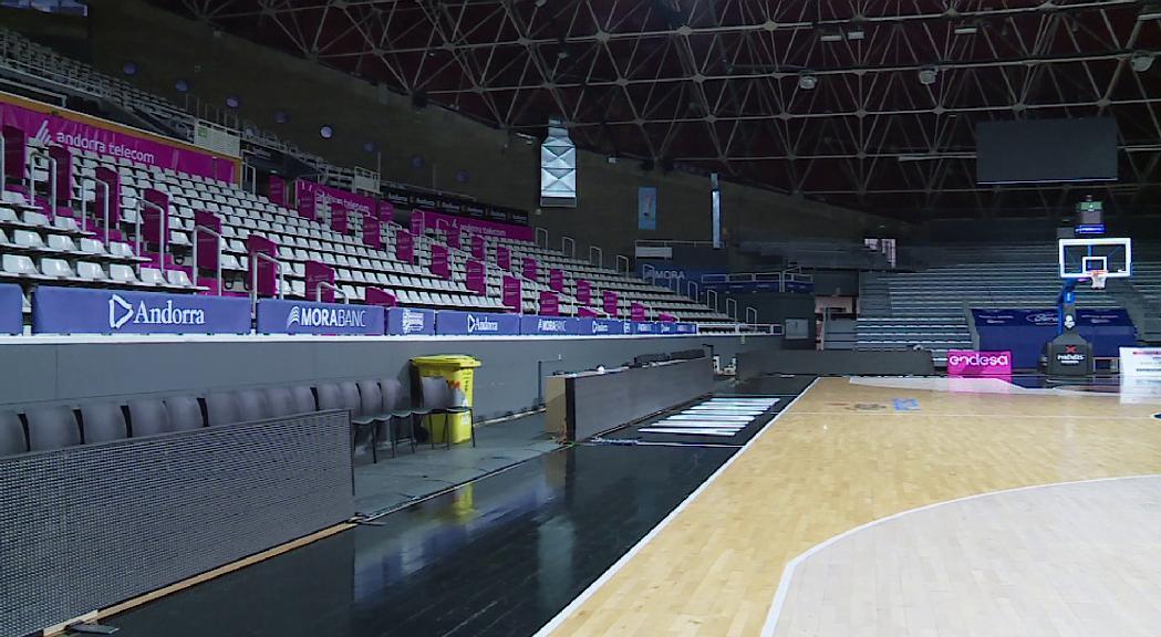 El debut del MoraBanc a l'Eurocup serà a porta tancada