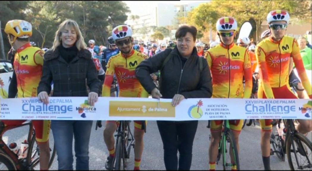 Debut positiu de Samu Ponce a la Challenge de Mallorca
