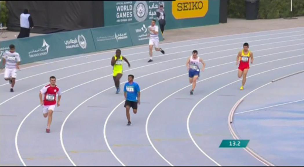 La delegació andorrana als Jocs Mundials Special Olympics d'Abu Dhabi suma 12 medalles