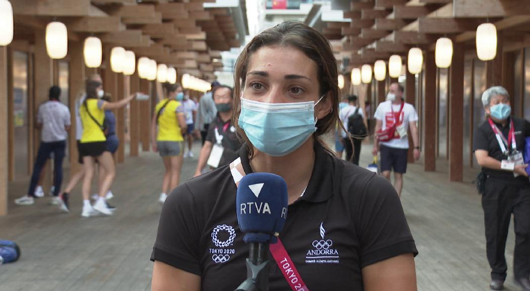 La delegació andorrana als Jocs Olímpics de Tòquio marxa amb un regust amarg pels resultats, però deixant una bona imatge