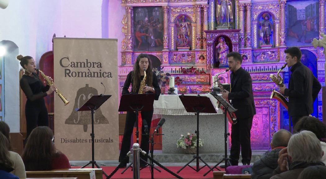 Delia Quartet tanca el V Cicle Cambra Romànica