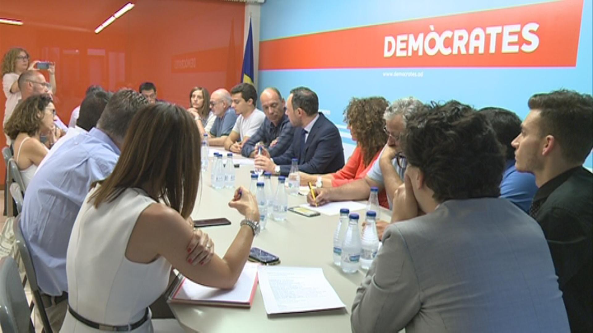 Demòcrates i Liberals d'Andorra van rebre uns 43.000 euros en donacions el segon semestre del 2020