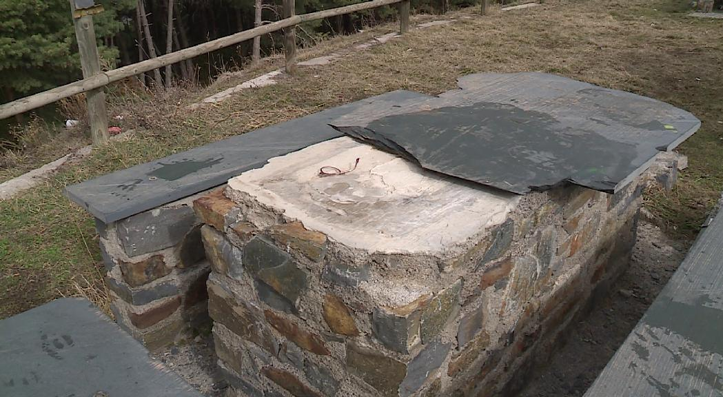 Les destrosses al berenador del Coll de la Plana de Sant Julià poden costar fins a 20.000 euros