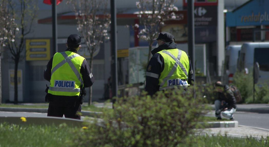 Detingut a Encamp per robar un vehicle després d'una fuga i persecució