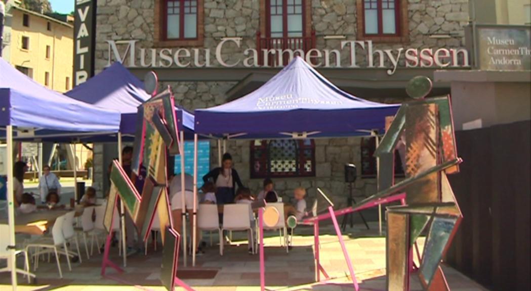Aquest dijous els visitants del Carmen Thyssen paguen la voluntat i col·laboren solidàriament amb Unicef