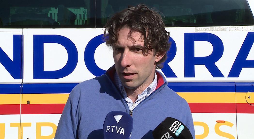 El director esportiu treu dramatisme a la mala ratxa del FC Andorra