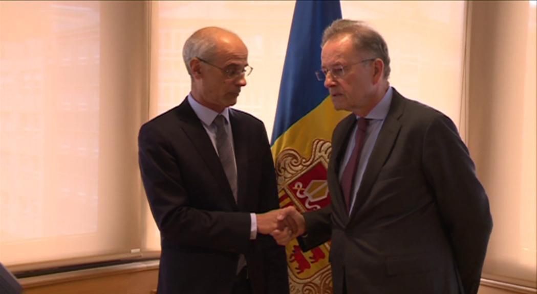 El director de l'oficina de l'ONU a Ginebra comprova els avenços d'Andorra en l'agenda internacional de sostenibilitat in situ
