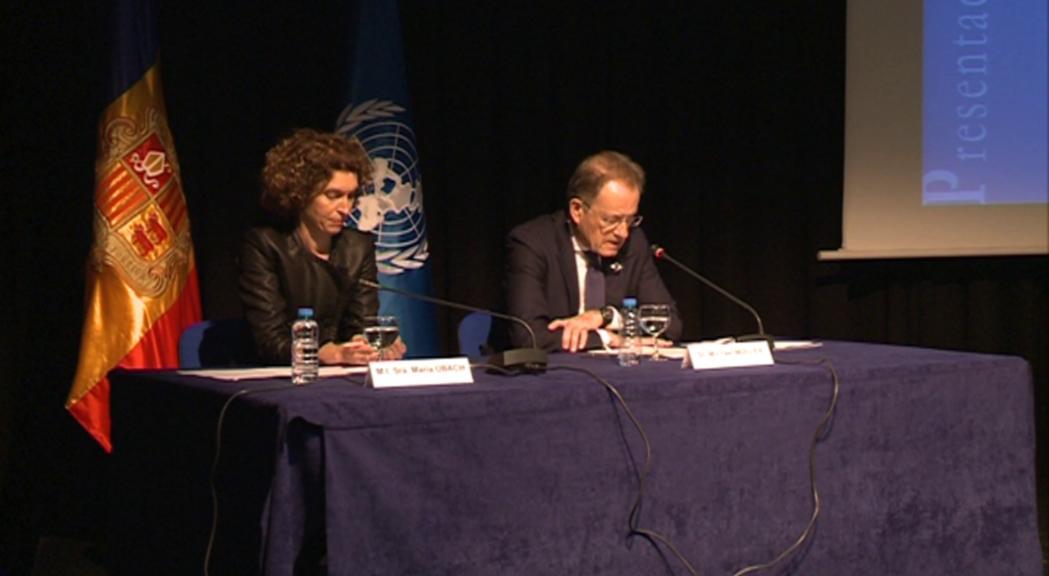 El director general de l'Oficina de les Nacions Unides a Gi